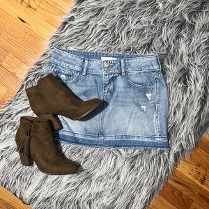 ♣️ Old Navy Denim Mini Skirt Size 4